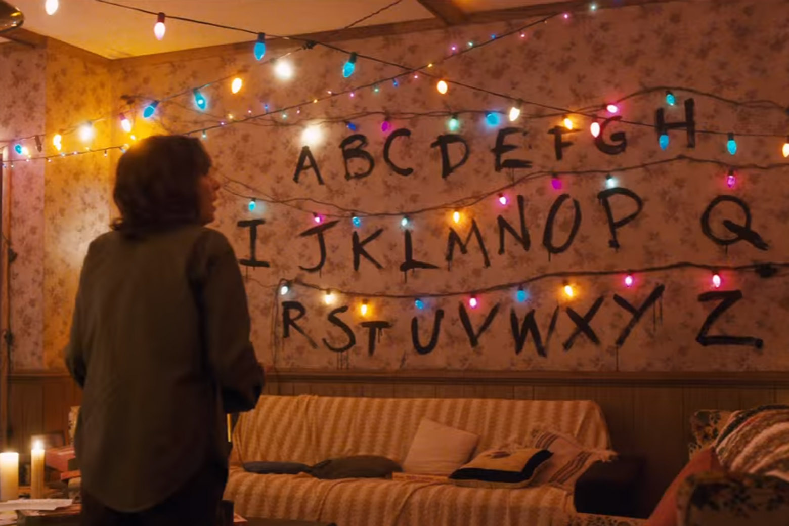 Stranger Things Arduino Powered Light Wall Kylie Stradley